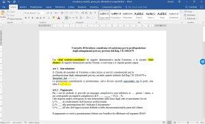Modelli Contratto E Preventivo Consulenza Privacy Consulenza Privacy
